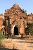 Храм Dhammayangyi на археологическом объекте Баган — Стоковое фото