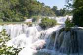 Waterfalls of the Krka national park — Stock Photo