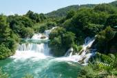 Waterfalls of the Krka national park — Stockfoto