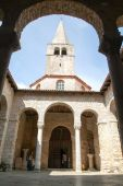 The Euphrasian Basilica in Porec — Stock Photo