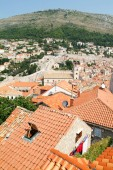 View at the old town of Dubrovnik — Stock Photo