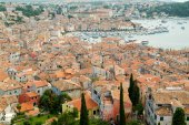 The picturesque town of Rovinj — Stok fotoğraf