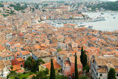 The picturesque town of Rovinj — Foto de Stock