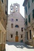 Church and museum of Saint Barbara in Sibenik — Stock Photo