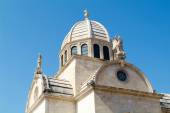 The Cathedral of St. James in Sibenik, Croatia — Stock Photo