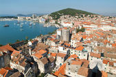 Aeral view of Split  — Foto Stock