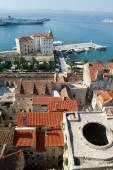 Aeral view of Split  — Stock Photo