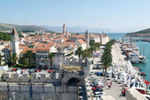 Architecture of the Old Town of Trogir, Croatia — Stock Photo
