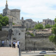 Palace of Pope at Avignon on France — Stock Photo #60037079