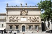 Hotel des Monnaies at Avignon on France — Stock Photo