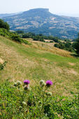 Apennines valley at Emilia Romagna — Stock Photo