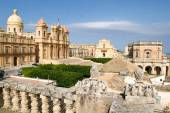 The town of Noto on Italy — Foto de Stock
