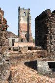 Ruinerna av St. Augustinus-kloster komplex på gamla Goa — Stockfoto