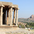 Ancient ruins of Vijayanagara Empire in Hampi, India — Stock Photo #64769117