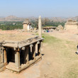 Ancient ruins of Vijayanagara Empire in Hampi, India — Stock Photo #64769617