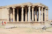 Starożytne ruiny Widźajanagaru w Hampi, Indie — Zdjęcie stockowe