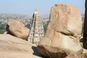 View of Shiva-Virupaksha Temple at Hampi, India — Stock fotografie