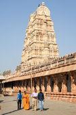 View of Shiva-Virupaksha Temple at Hampi, India — Stock Photo