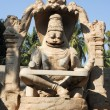 Statue of Lakshmi Narasimha at Hampi on India — Stock Photo #65522505
