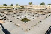 Water tank of Royal Enclosure temple at Hampi — Stock Photo