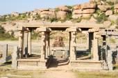Vittala temple at Hampi — Stock Photo