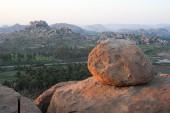 Vista desde el Cerro Malayavanta a Hampi — Foto de Stock