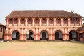 Santa cruz secondary school at Fort Cochin on India — Stock Photo