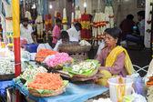 The Devaraja market at Mysore on India — Stock Photo