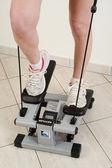 Chica de entrenamiento de fitness — Foto de Stock