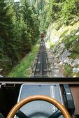 Pilatus train of Mount Pilatus — Stock Photo
