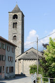 Church of Reoveredo in Mesolcina valley — Stock Photo