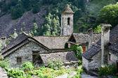 The rural village of Foroglio on Bavona valley — Stock Photo