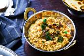 Dhal with pumpkin. Indian cuisine — Stok fotoğraf