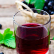 Cold drink from black currant — Stock Photo #79052850