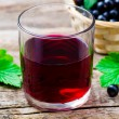 Cold drink from black currant — Stock Photo #79052886