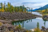 Lake Teletskoe — Stock Photo