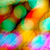 Defocused colorful lights background — Stock Photo