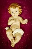 Baby Jesus Christ figure — Stock Photo