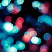 Christmas blurred lights. — Stock Photo