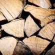 Stack of chopped fire wood — Stock Photo #67982445
