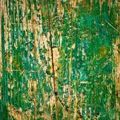 Old green wood texture background — Stock Photo