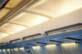 Airplane interior detail. — Stock Photo