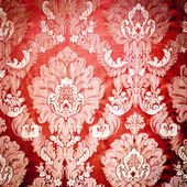 Red damask tapestry — Stock Photo