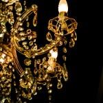 Crystal chandelier — Stock Photo #68541717