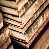 Books stacked — Stock Photo