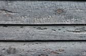 Texture of burned wood boards — Stock Photo