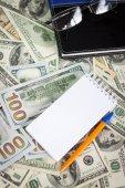 US dollars background — Stock Photo