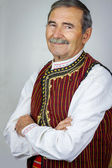 Senior man in traditional clothing — Stock Photo