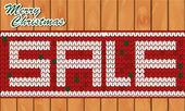 Weihnachten verkauf — Stockvektor
