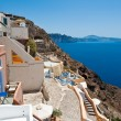 View of Oia village on the island of Santorini also known as Thera, Greece. — Stock Photo #54795743